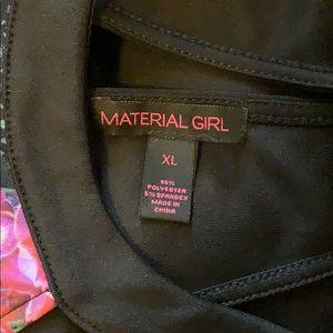 Material Girl Dresses - XL short dress